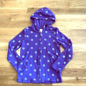 3/$12💰Purple Fleece Full Zip Hoodie